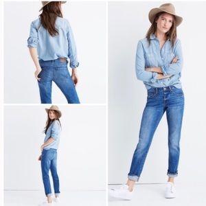 •Madewell• The Slim BoyJean